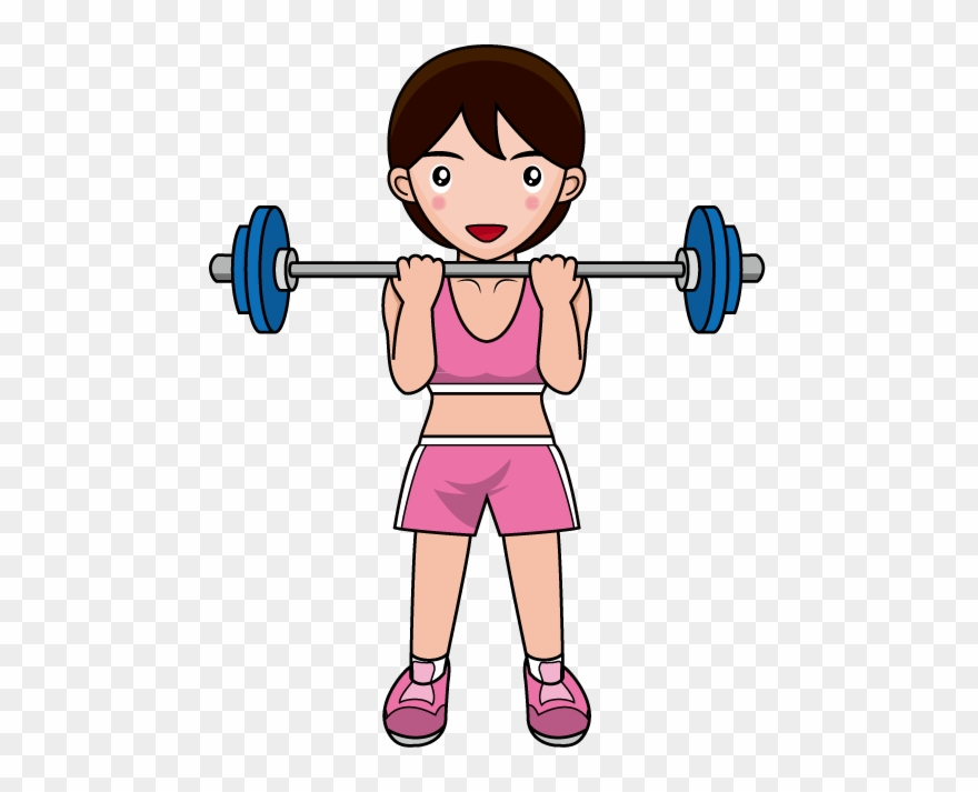 Free training clip artline. Exercising clipart muscle