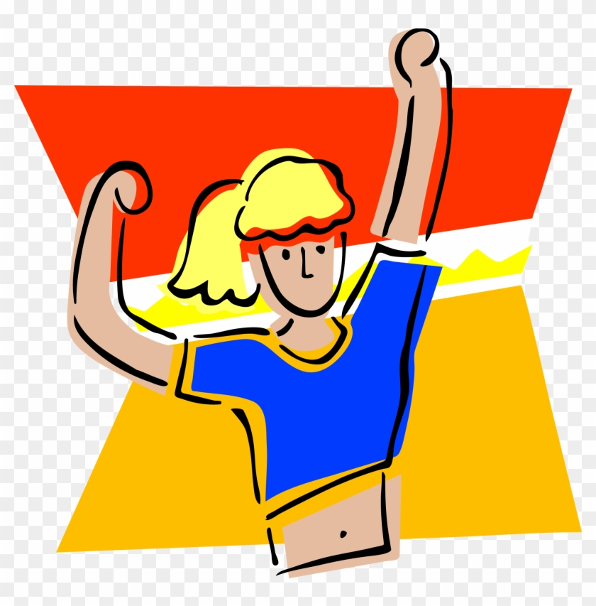 Exercising clipart physically. Free fitness and exercise