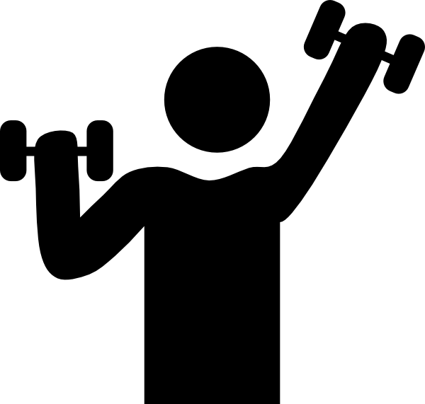 Exercising clipart physically. Physical benefits of exercise