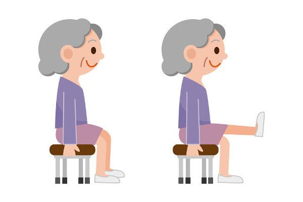 Video easy effective minute. Exercising clipart senior exercise