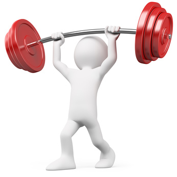 Exercising clipart strength. Free cliparts download clip