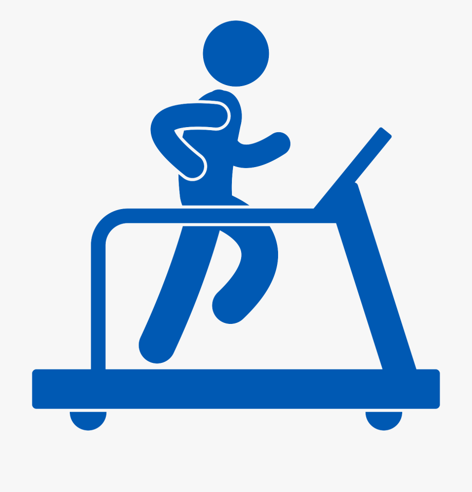 Exercise and memory png. Exercising clipart treadmill