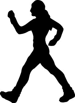 Choosing a exercise program. Exercising clipart walking fitness