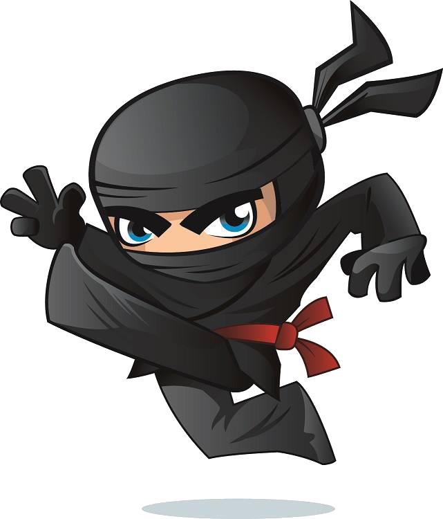 Surefire ninja. Fitness clipart kinesiology