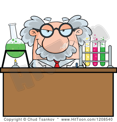 Science . Experiment clipart