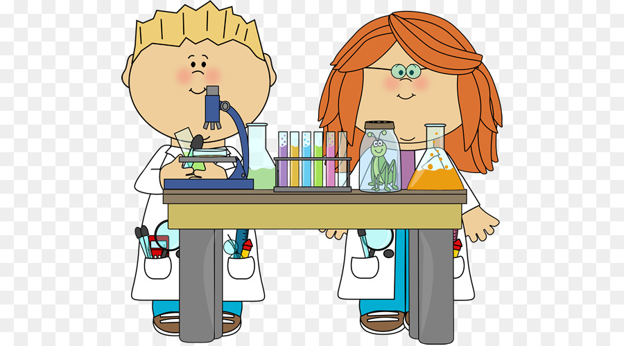 Experiment clipart. Science education scientist class