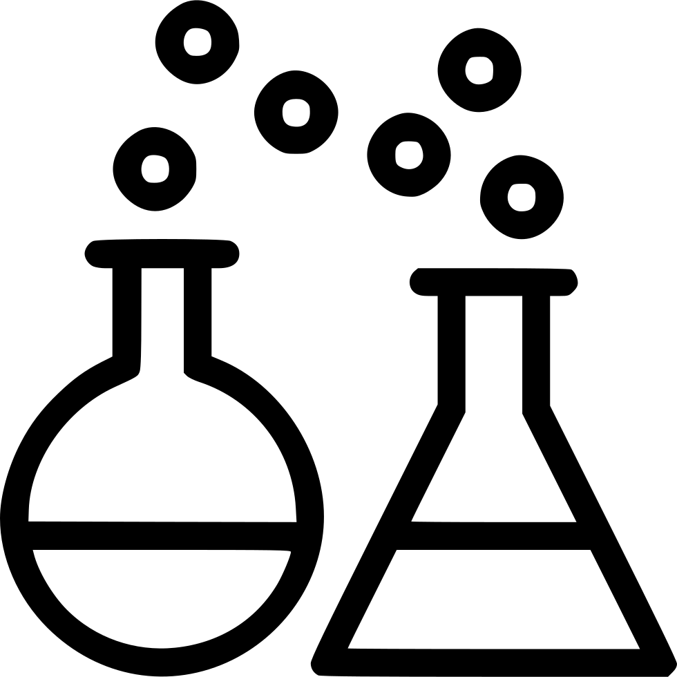 Lab clipart beaker. Chemical reaction test conical