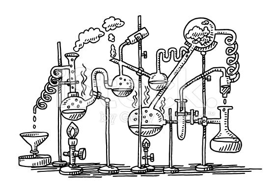 experiment clipart drawing