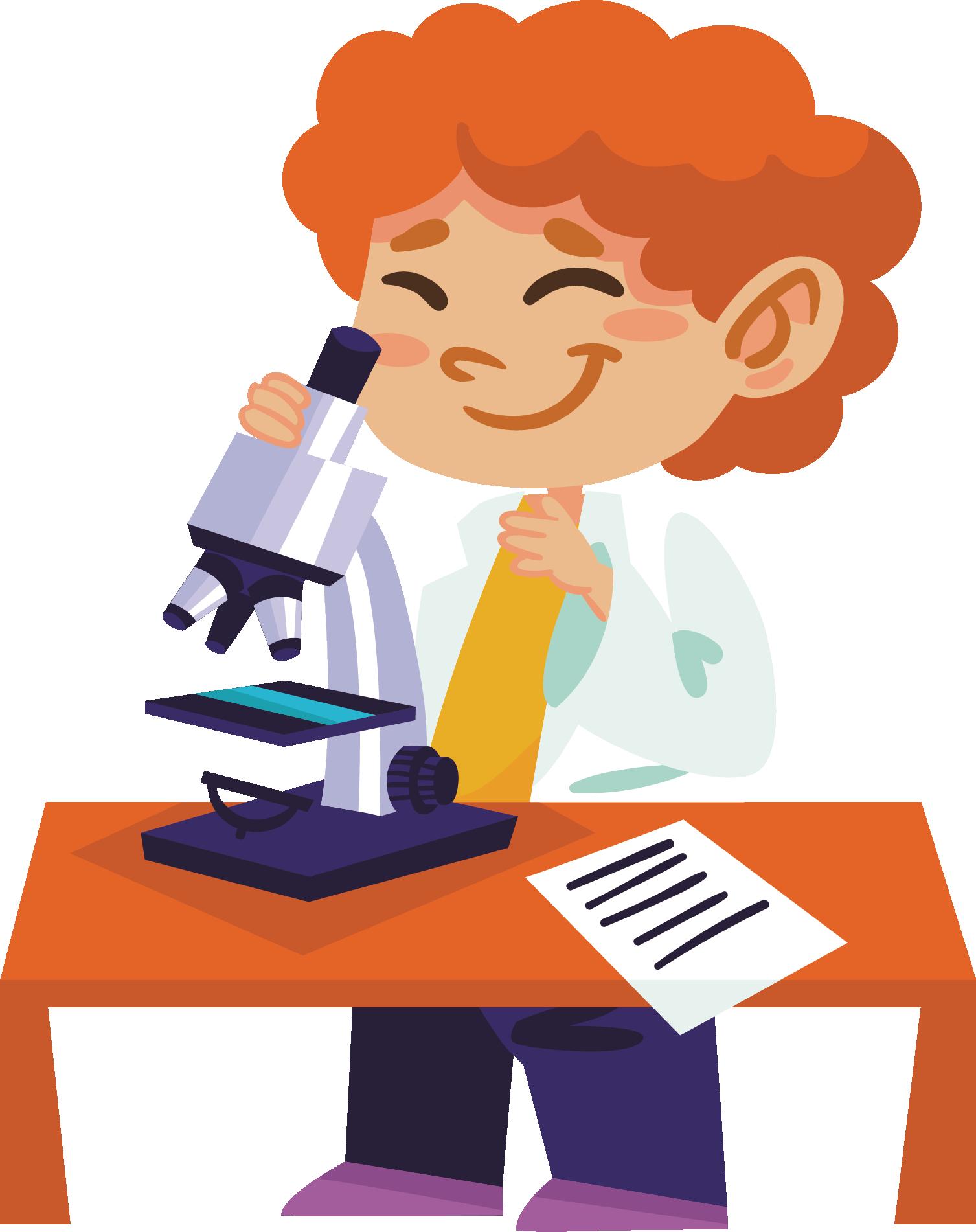 Scientist clipart science area. Experiment illustration scientific transprent