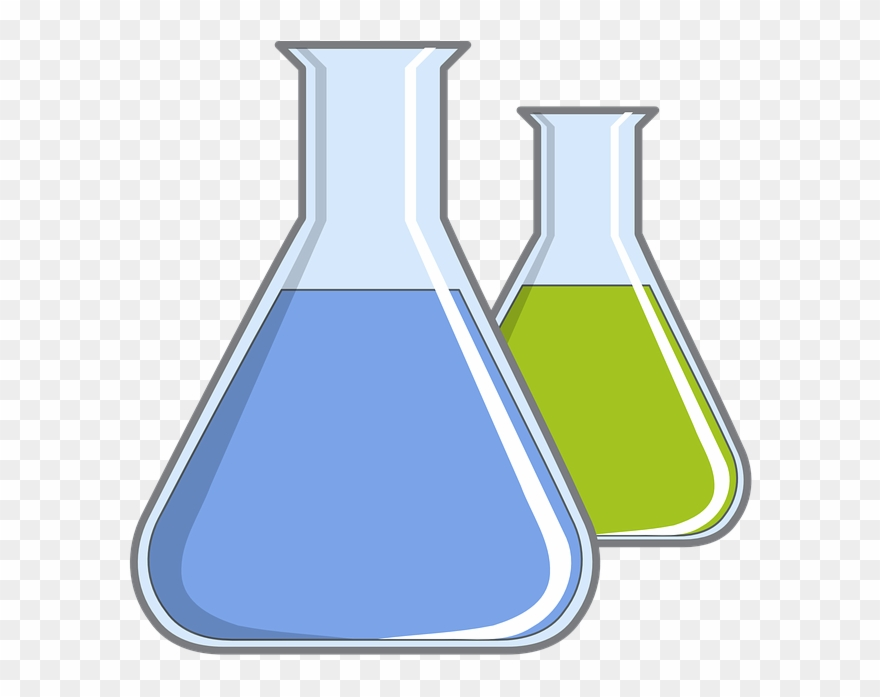 Flasks transparent png download. Experiment clipart flask
