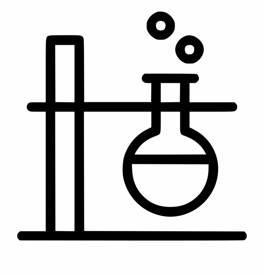 Lab clipart chemistry experiment. Conical flask laboratory bubble