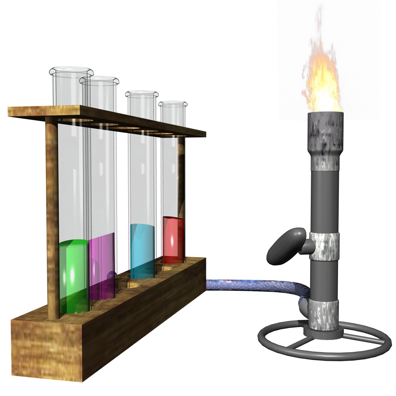 Iron stand laboratory apparatus. Lab clipart lab supply
