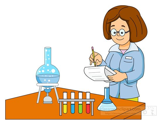 Experiment clipart lady scientist. Science performing graduated