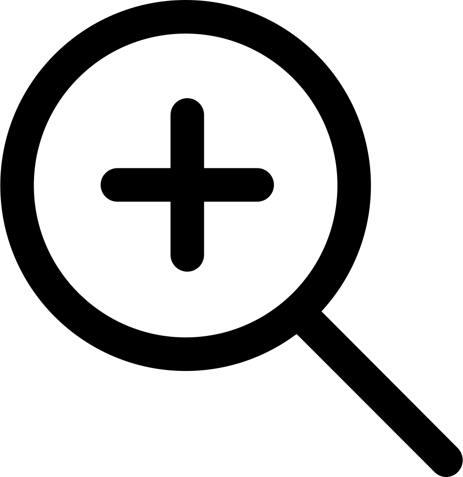 Zoom in svg png. Experiment clipart magnifying glass