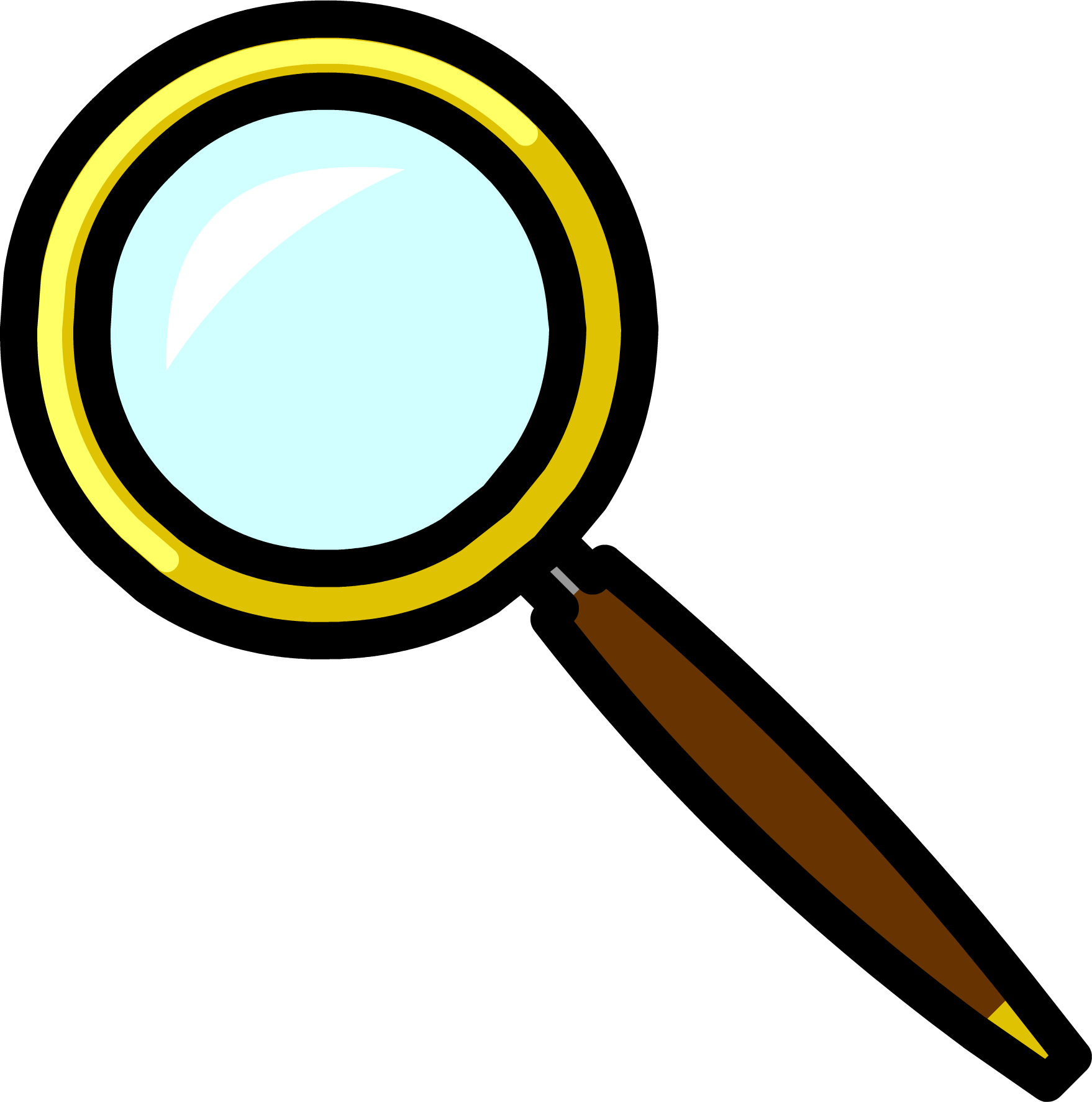 Experiment clipart magnifying glass. Image pin png club