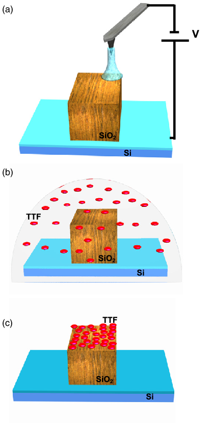 Schematic of the positioning. Experiment clipart oxidation