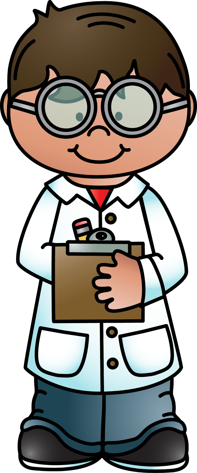 Melonheadz clipart science. Physical scientist technology clip