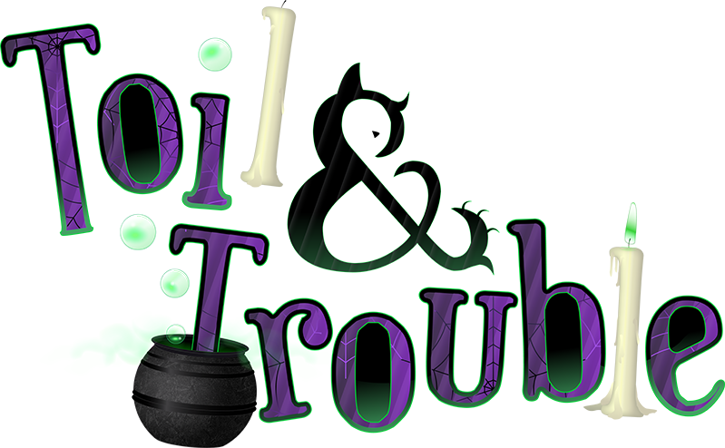 Experiment clipart potion. Toil and trouble halloween