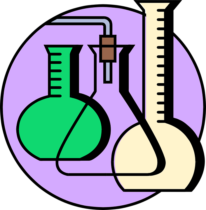 Science around the house. Test clipart gcse