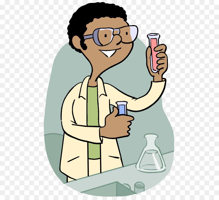 Scientist cartoon science man. Hypothesis clipart experiment