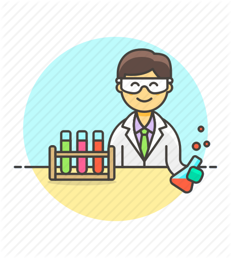 by webalys. Experiment clipart science technology