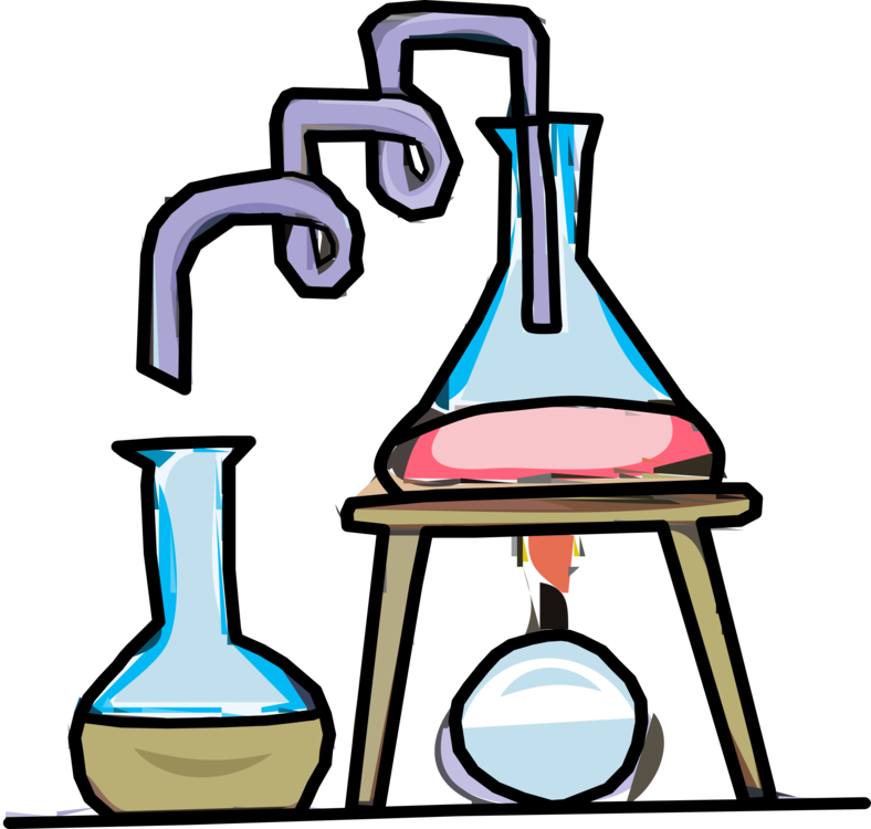 Experiment clipart science thing. Artwork line test tubes