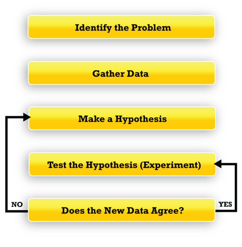 Hypothesis clipart scientific method hypothesis. The process of science