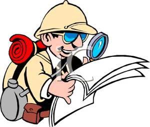World kid canvas course. Explorer clipart