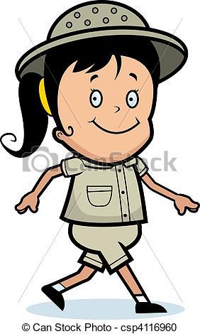 Explorer clipart. Cartoon