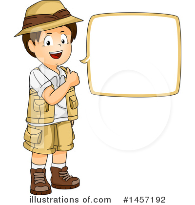 Explorer clipart. Illustration by bnp design