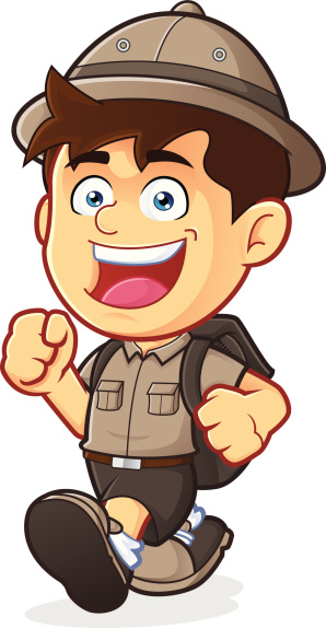 Explorer clipart.  collection of kid