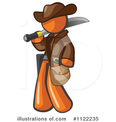 Illustration by leo blanchette. Explorer clipart