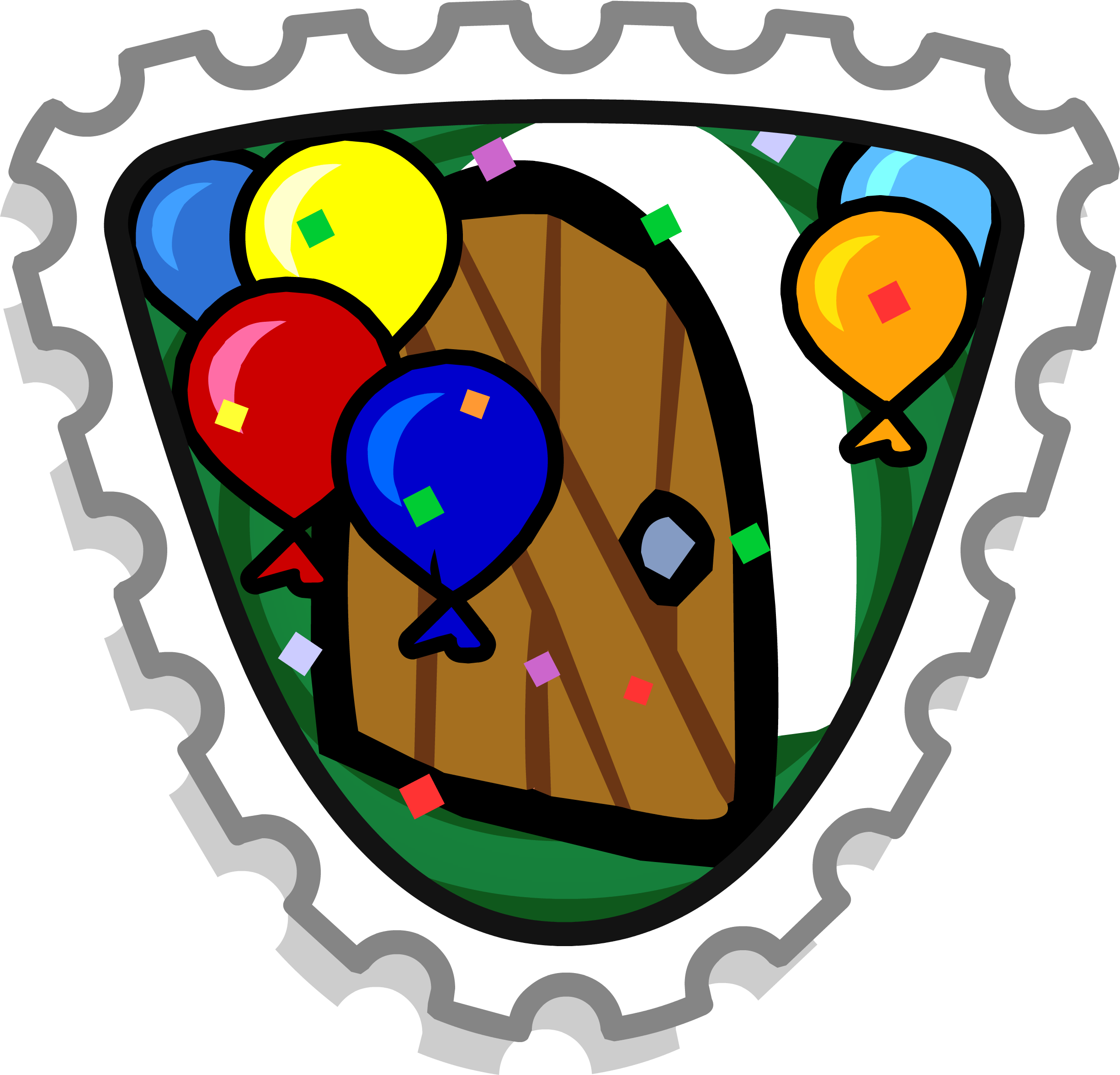 Missions clipart official stamp. Explorer club penguin wiki