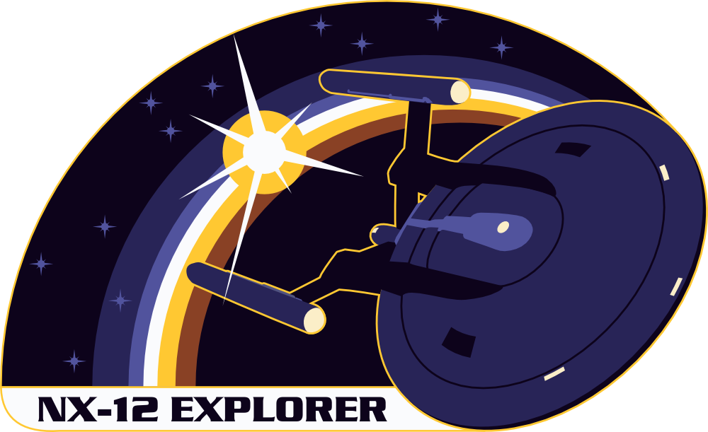 Explorer clipart compass star. Nx assignment patch by