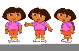 Explorer clipart dora birthday. Free images at clker