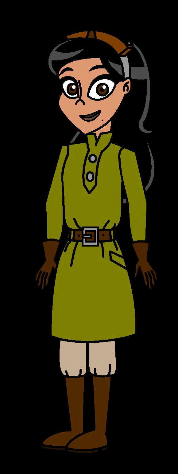Havtitc episode kristina in. Explorer clipart female explorer