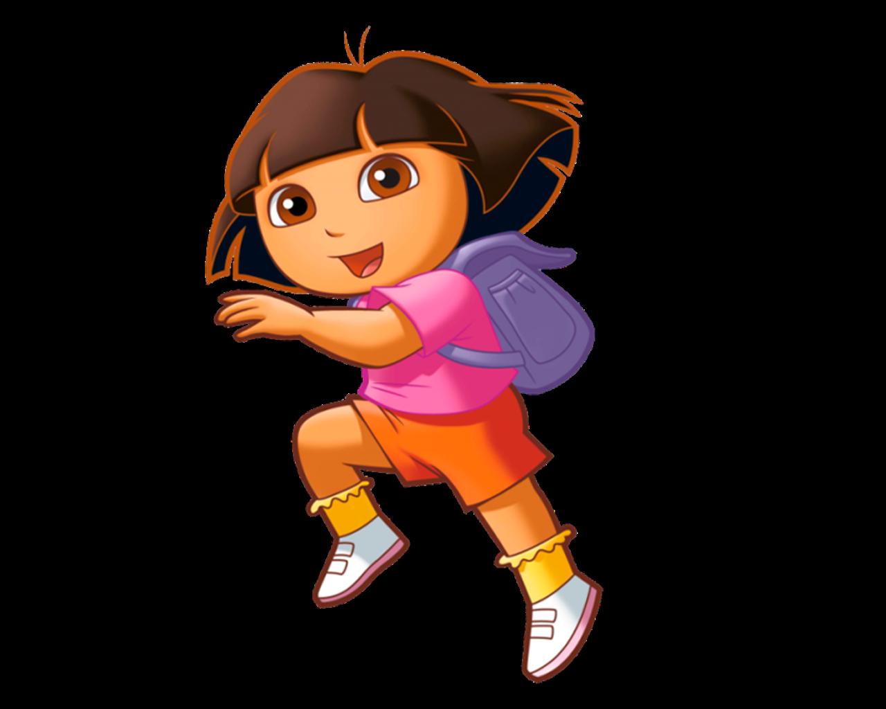 Cartoon characters dora the. Explorer clipart female explorer