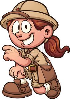 Download for free png. Explorer clipart female explorer