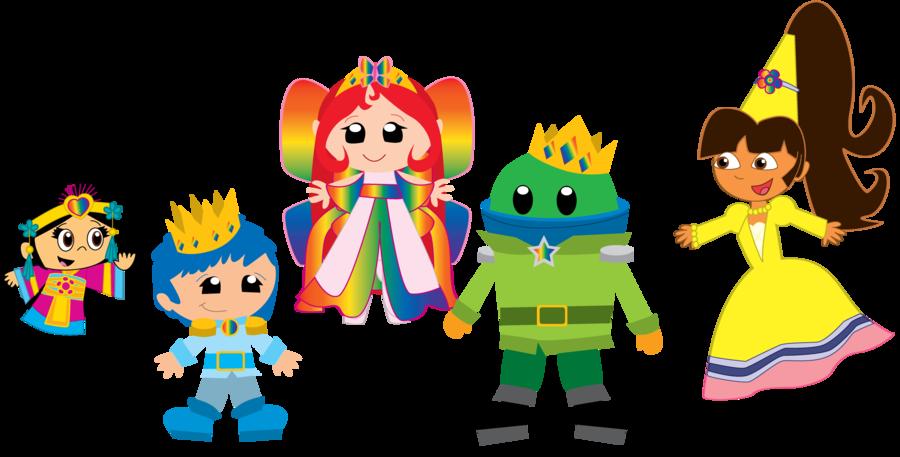 Princess clipart dora. Milli and her royal