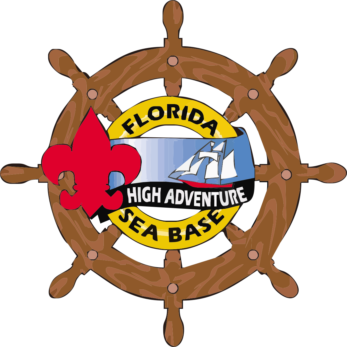 Florida national high adventure. Pathway clipart rainbow
