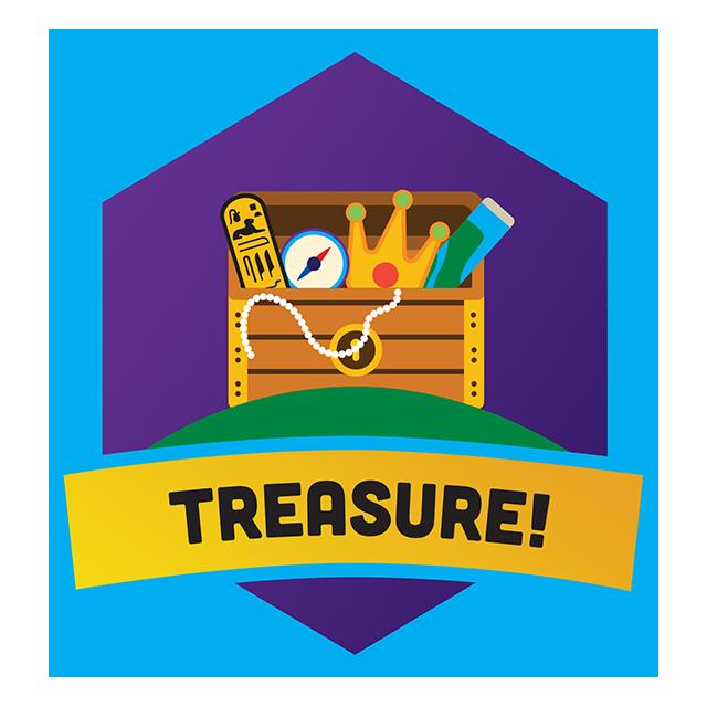 Destination imagination logo. Treasure clipart egyptian treasure