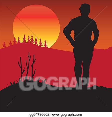 Eps illustration ride rider. Hike clipart walker