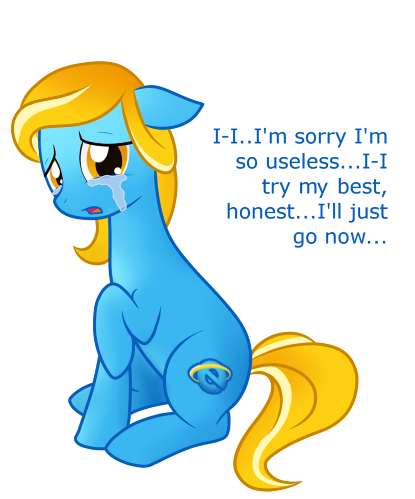 Internet clipart internet browsing. Explorer pony by staticwave