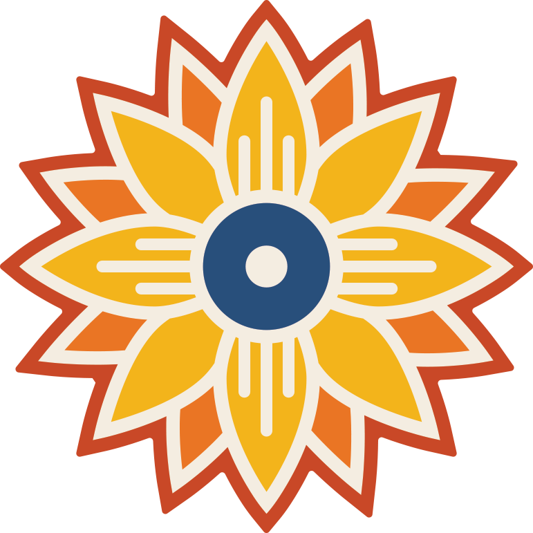 Markers clipart flag. Sunflower icon with wichita