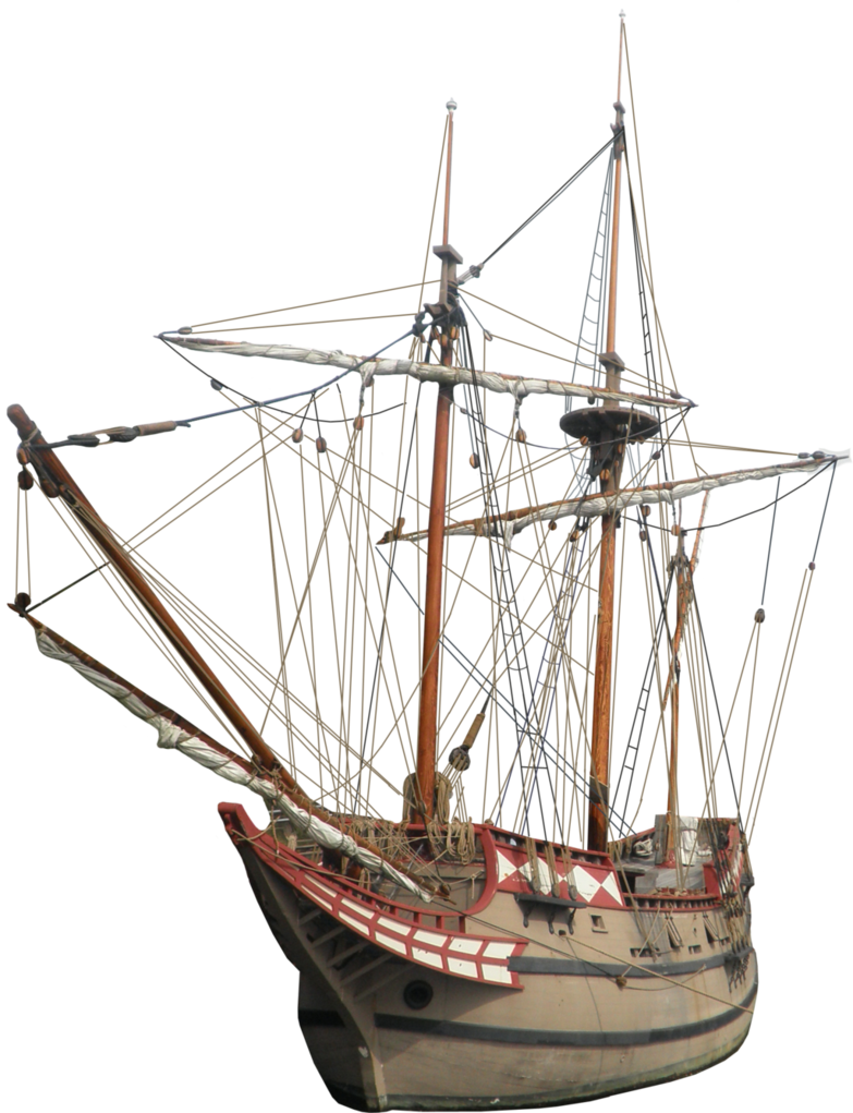 Explorer clipart sail ship. Colonial png by thy