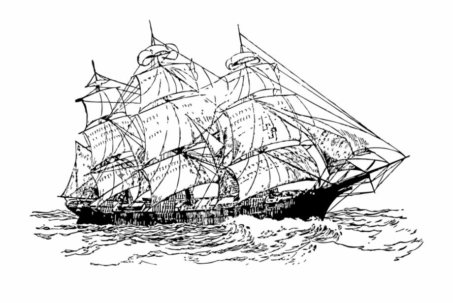 Sailor sailing maritime old. Explorer clipart sail ship