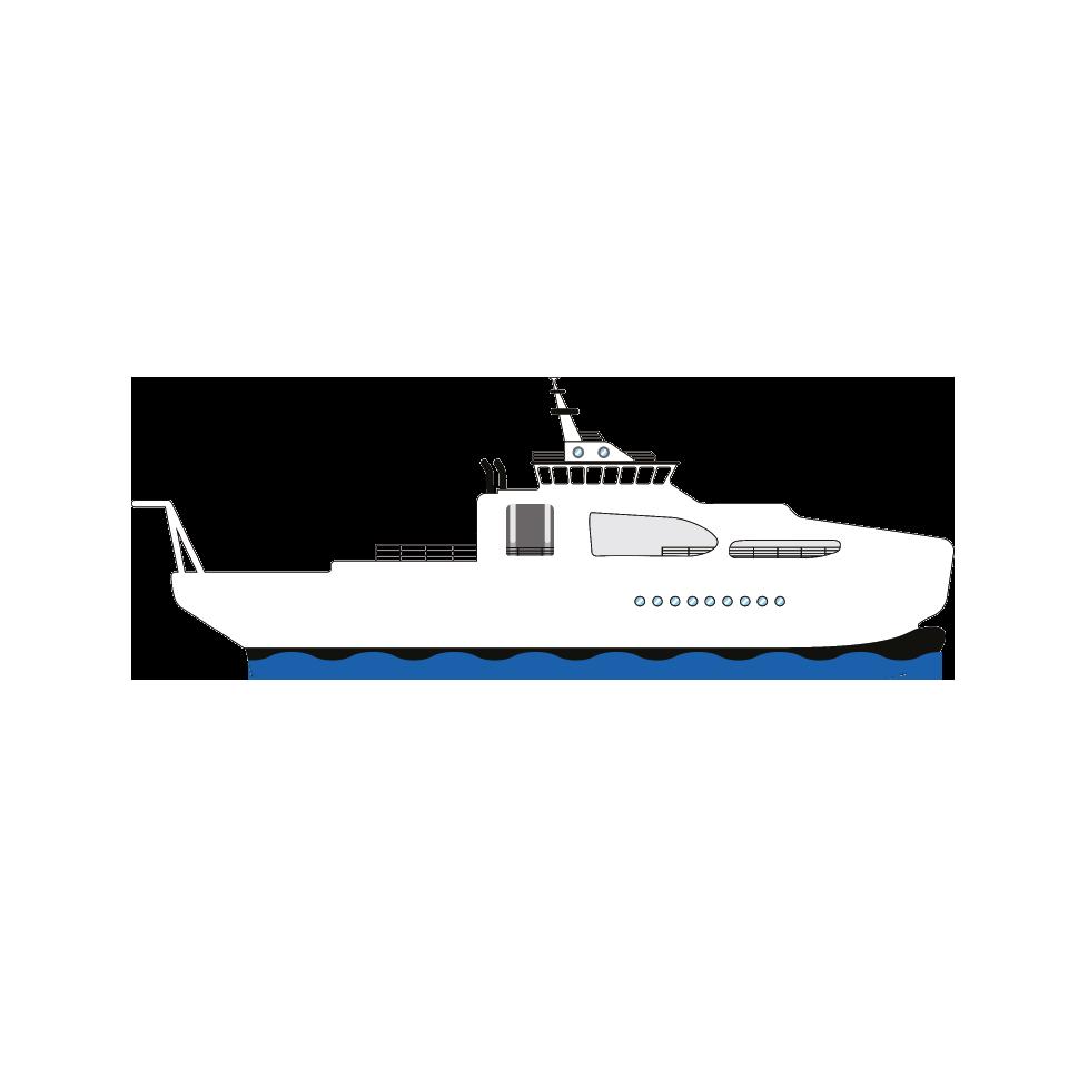Orange marine e dossier. Explorer clipart ship building