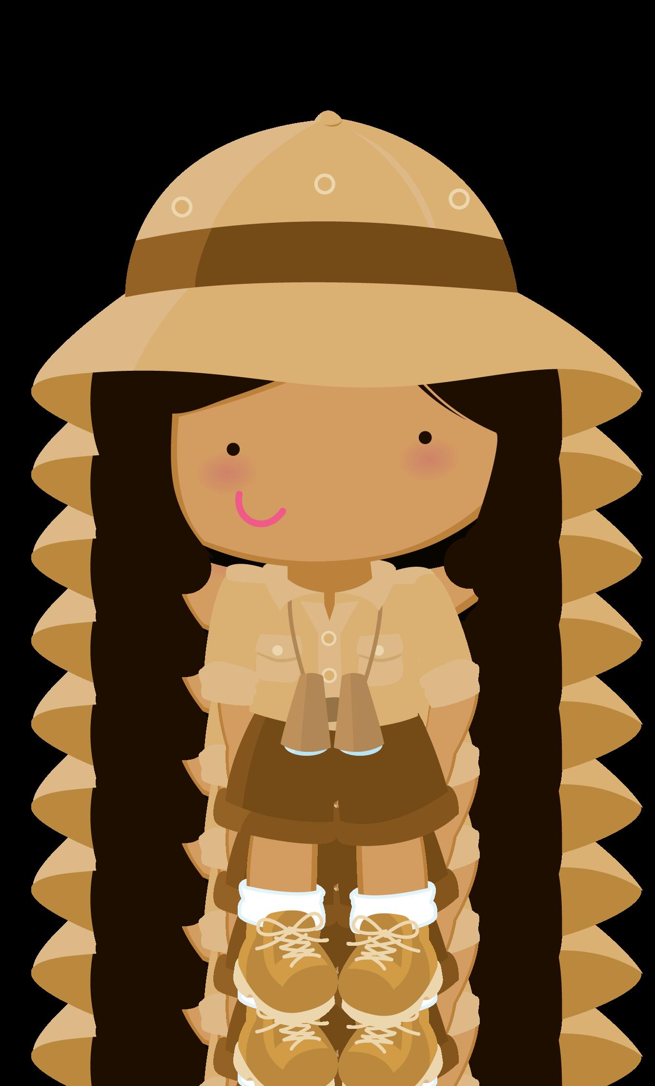 Explorer clipart tourist guide.  collection of safari