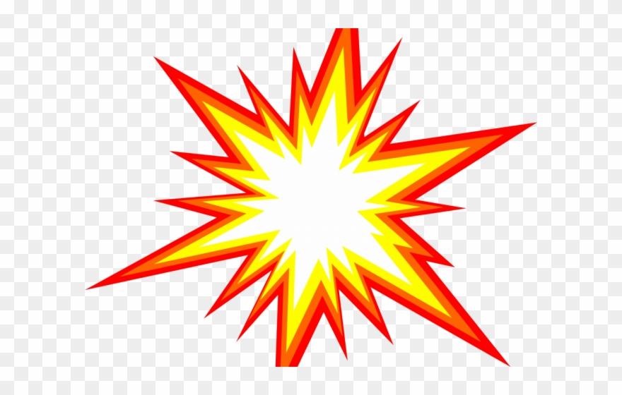 Burst clipart starburst. Explosion star png transparent