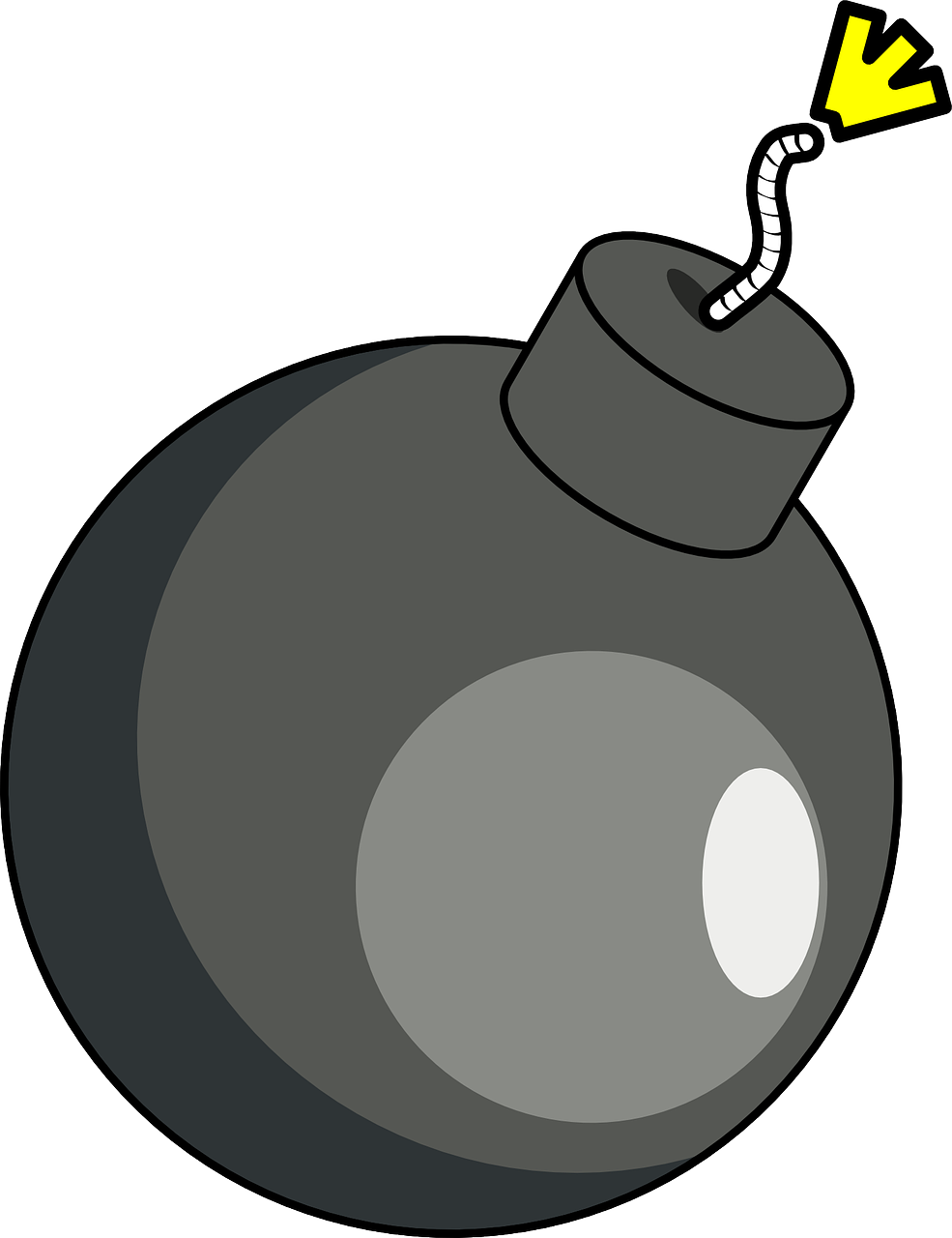 Bomb clipart. Free cartoon cliparts download